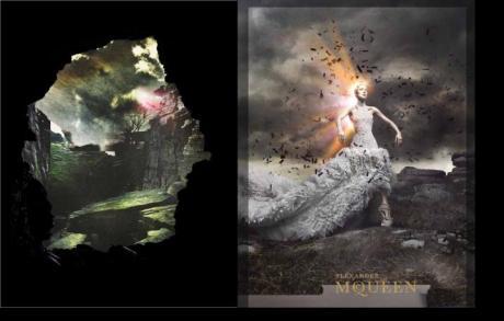 Alexander McQueen FW11 Campaign 5 on exshoesme.com