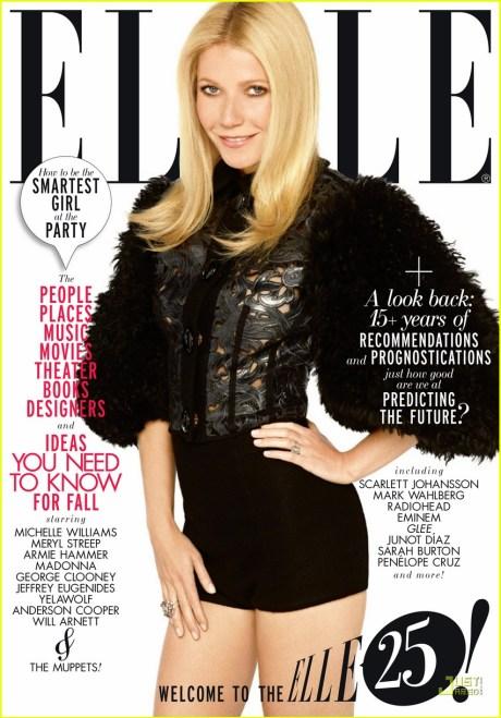 Elle US September 2011 Gwyneth Paltrow Cover 2 on exshoesme.com