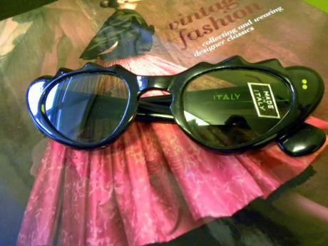 Vintage Cat's Eye Glasses on exshoesme.com. Photo by Jyotika Malhotra
