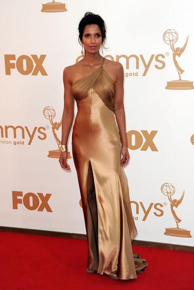 1 Padma Lakshmi at the 2011 Emmy Awards on Exshoesme.com