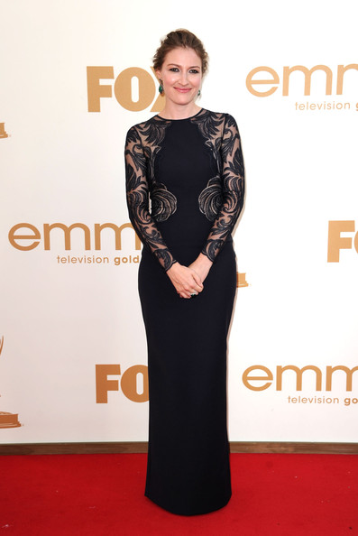 5. Kelly Macdonald in Stella McCartney at the 2011 Emmy Awards on Exshoesme.com. Photo by Frazer Harrison - Getty