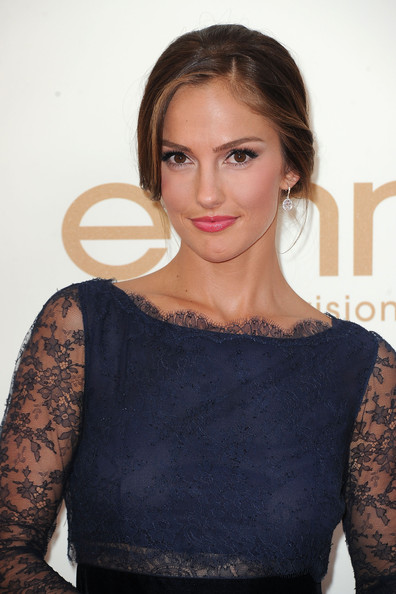 5. Minka Kelly in Dior at the 2011 Emmy Awards on Exshoesme.com Photo by Frazer Harrison Getty.
