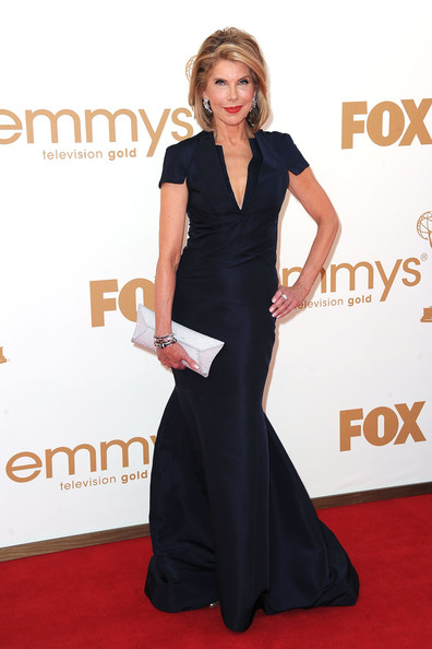 Christine Baranski at the 2011 Emmy Awards on exshoesme.com Photo by Frazer Harrison