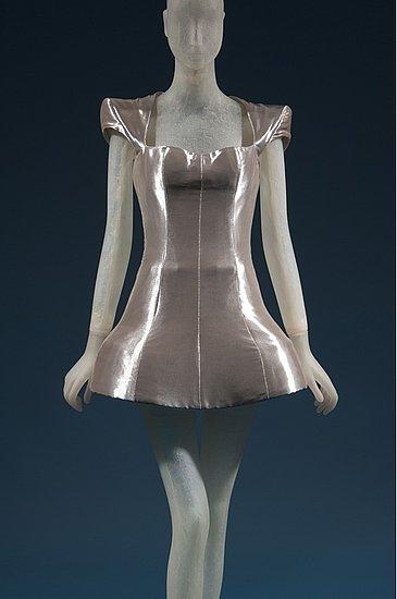 Daphne Guinness FIT Exhibit Preview Alexander McQueen Dress on Exshoesme.com