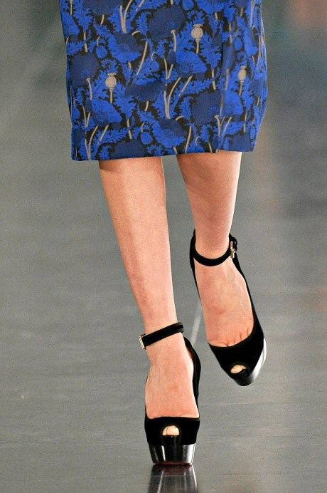 Jonathan Saunders FW11 Blue and Black on Exshoesme.com