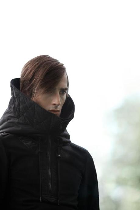 Philippe Dubuc FW11 Menswear Hooded Jacket on exshoesme.com