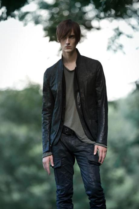 Philippe Dubuc FW11 Menswear Waxed Suit on exshoesme.com