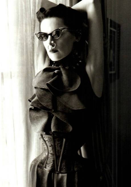 Stella Tennant for Vogue Italia Sept 2011 by Steven Meisel on exshoesme.com 4