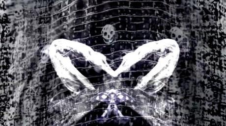 Alexander McQueen Broken Porcelain Skull Scarf 3 on Exshoesme