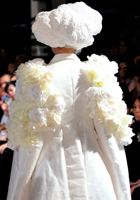 Comme Des Garcons SS12 Floral Angel Wings on Exshoesme.com