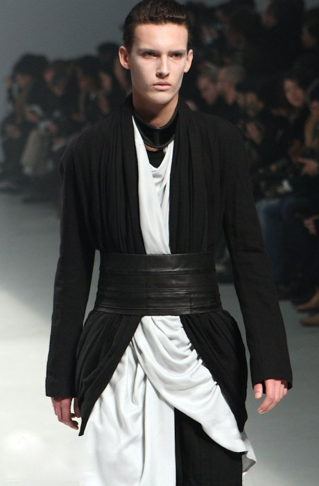 Julius FW11 Menswear Belted Layers on Exshoesme.com