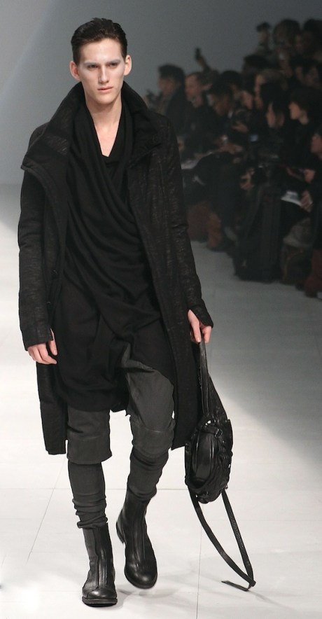 Julius FW11 Menswear Drapery on Exshoesme.com