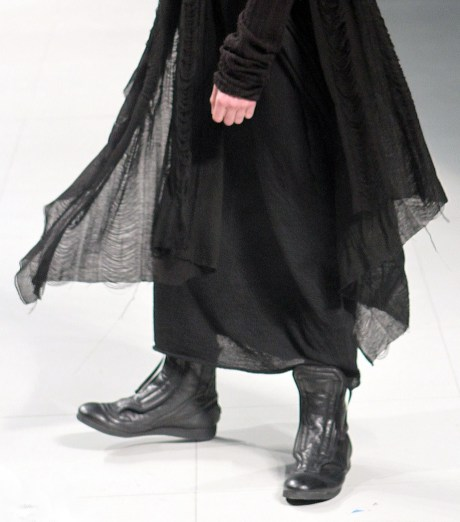 Julius FW11 Menswear Sheer Layers on Exshoesme.com