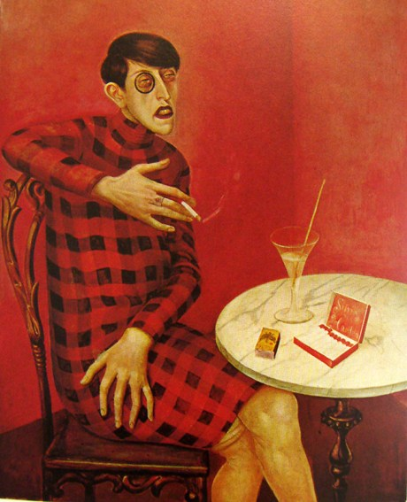 Portrait of the Journalist Sylvia von Harden, 1926 by Otto Dix on Exshoesme.com