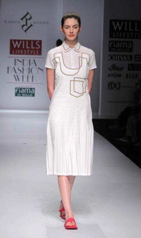 Rahul Reddy SS12 White Dress on Exshoesme.com