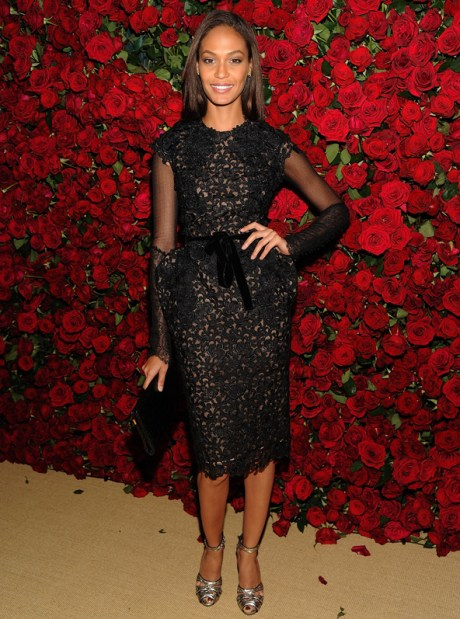 Joan Smalls in Tom Ford at Almodovar Benefit at MoMA on Exshoesme.com