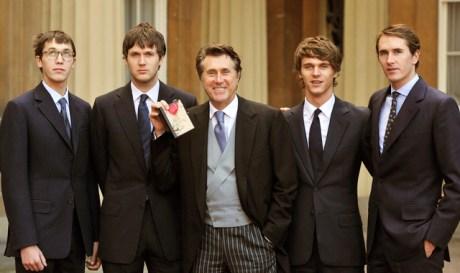 The Ferry Boys at the CBE ceremony on Exshoesme.com
