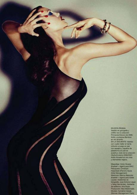 Aymeline Valade Harper's Bazaar Spain 6 October 2011 on Exshoesme