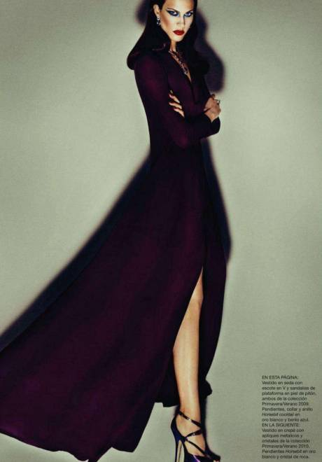 Aymeline Valade Harper's Bazaar Spain 7 October 2011 on Exshoesme