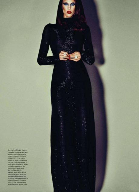 Aymeline Valade Harper's Bazaar Spain 8 October 2011 on Exshoesme