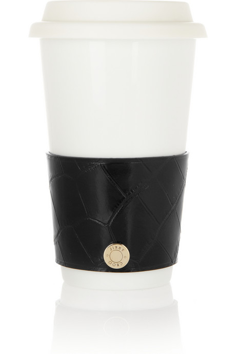 Jimmy Choo Croc Coffee Cup Sleeve on Exshoesme.com