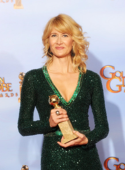 6 Laura Dern's curls at the 2012 Golden Globe Awards on Exshoesme.com