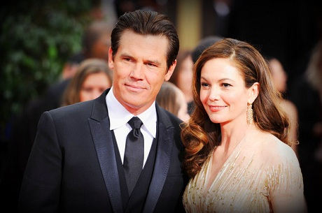 8 Diane Lane and Josh Brolin sleek hair at the 2012 Golden Globe Awards on Exshoesme.com