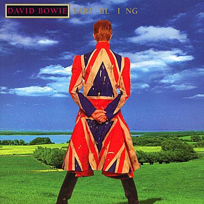 David Bowie Earthling Album Cover on Exshoesme.com