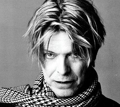 David Bowie aging with style on Exshoesme.com