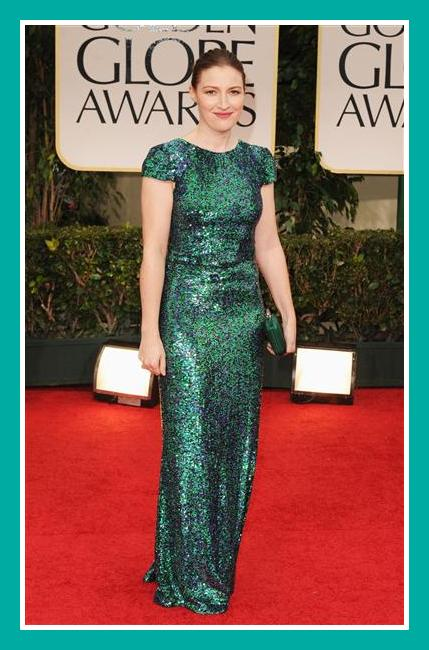 Kelly Macdonald in Jason Wu at the 2012 Golden Globe Awards on Exshoesme.com