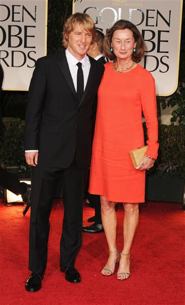 Owen and Laura Wilson at the 2012 Golden Globe Awards on Exshoesme.com