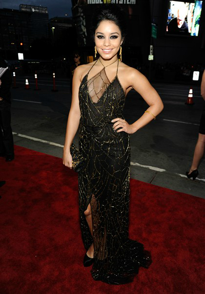 Vanessa Hudgens in Jenny Packham at the 2012 People's Choice Awards on Exshoesme.com