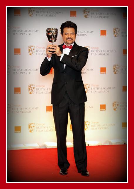 Anil Kapoor at the 2012 BAFTA Awards on Exshoesme.com