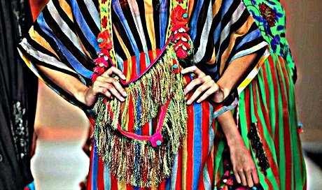 Anupamaa by Anupama Dayal Coloured Stripes on Exshoesme.com-001