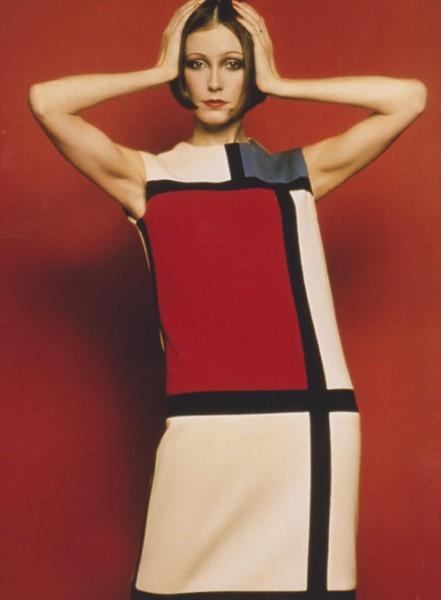 Art as fashion - the Mondrian dress by YSL on Exshoesme.com