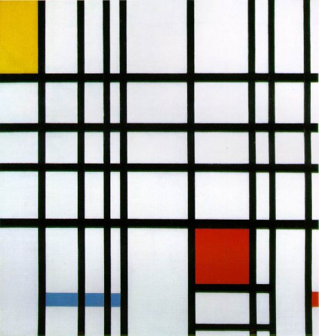 Composition No. 10 1939-42 by Piet Mondrian on Exshoesme.com