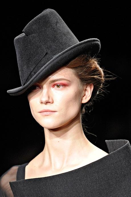 Donna Karan FW12 Charcoal Hat on Exshoesme.com