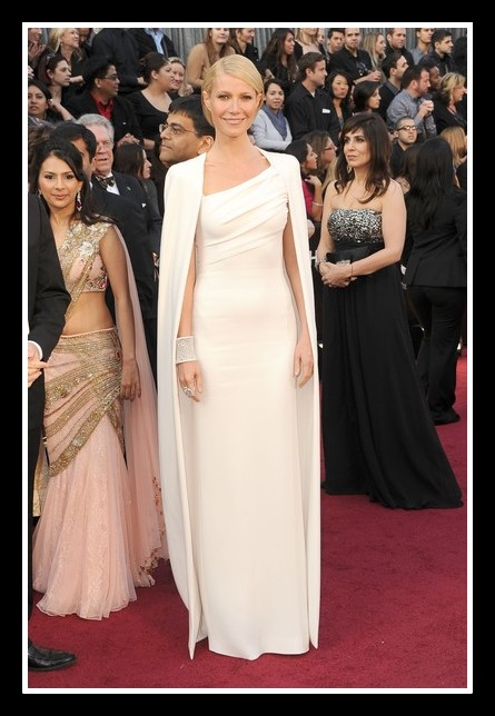 Gwyneth Paltrow in Tom Ford Best Dressed at the 2012 Oscars on Exshoesme.com