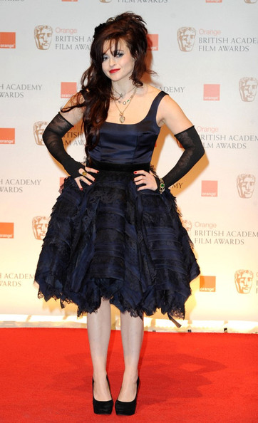 Helena Bonham Carter at the 2012 BAFTAs on Exshoesme.com
