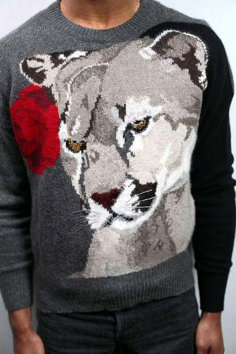 Krizia 1980s Puma Sweater on Exshoesme.com