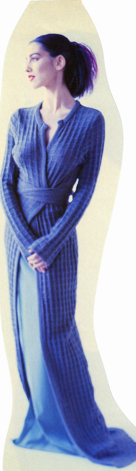 Mimi Bizjak Floor-length 1990s Sweater on Exshoesme.com