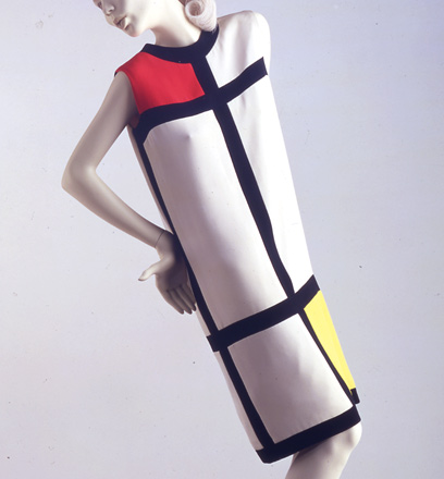 Mondrian Dress by Yves Saint Laurent, 1965 on Exshoesme.com