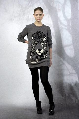 Stella McCartney PF09 Snow Leopard Sweater on Exshoesme.com