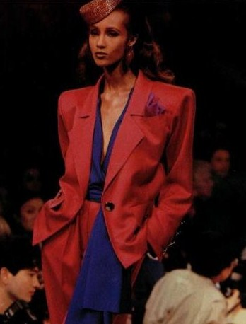 Iman in YSL on Exshoesme.com