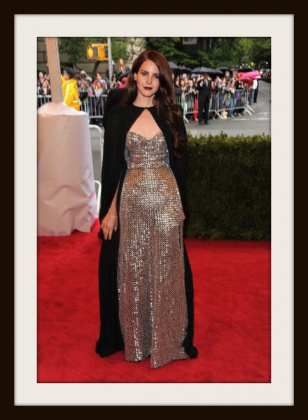 1. Lana Del Rey in Altuzarra at the Metropolitan Museum of Art Gala 2012 on Exshoesme.com