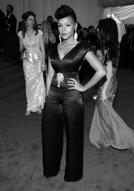 7. Janelle Monae at the Metropolitan Museum of Art Gala 2012 on Exshoesme.com