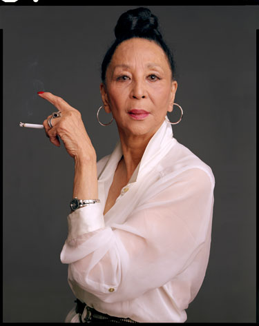 China Machado in Harper's Bazaar April 2012 Ageless Beauty on Exshoesme.com