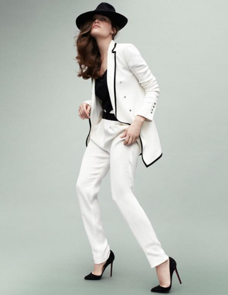 Laetitia Casta photographed by Mario Testino for Vogue Paris May 2012 on Exshoesme.com