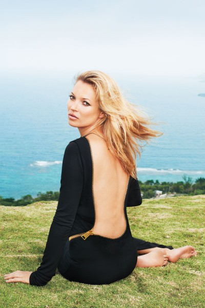 Kate Moss in Tom Ford photographed by Terry Richardson for Harper's Bazaar US June 2012 on Exshoesme.com