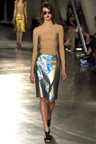 Jonathan Saunders SS13 Mirror Skirt on Exshoesme.com